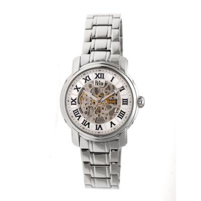 Reign Unisex Silver Tone Bracelet Watch-Reirn4301