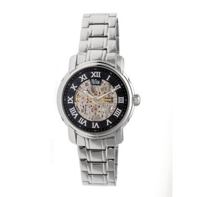 Reign Unisex Silver Tone Bracelet Watch-Reirn4302