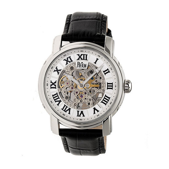 Reign Unisex Black Strap Watch Reirn4303