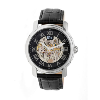 Reign Unisex Black Strap Watch-Reirn4304