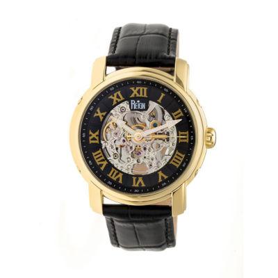 Reign Unisex Black Strap Watch-Reirn4305