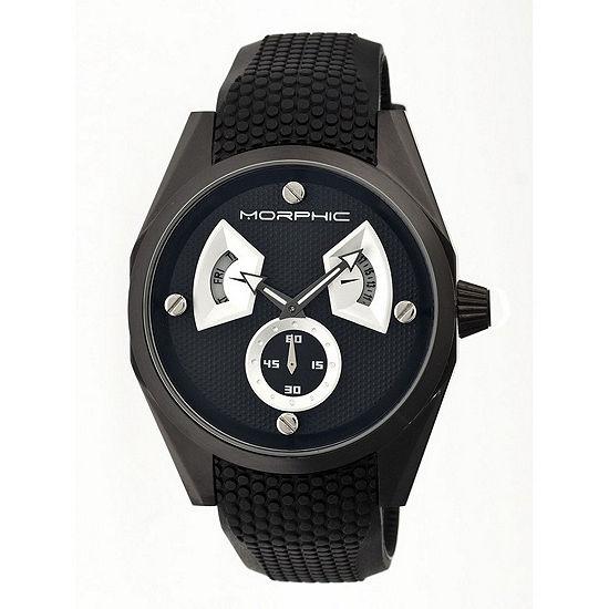 Morphic Unisex Adult Black Bracelet Watch-Mph3404