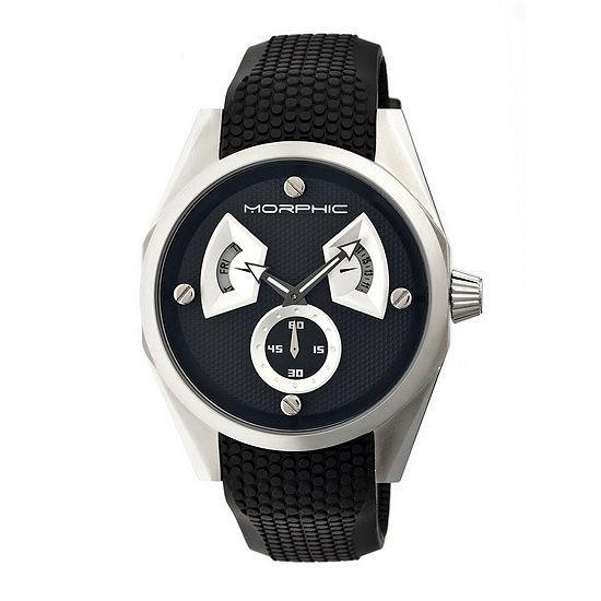 Morphic Mens Black Bracelet Watch - Mph3402