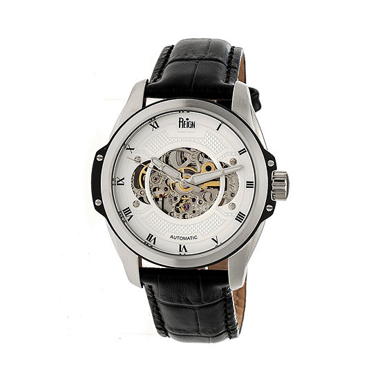 Reign Unisex Black Strap Watch Reirn4503