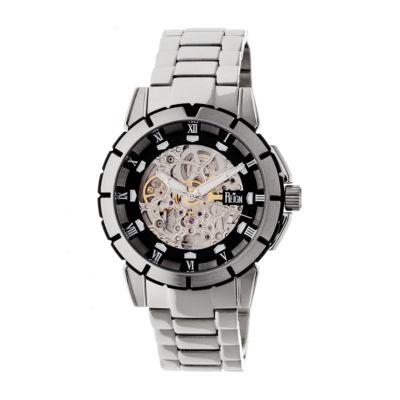 Reign Unisex Silver Tone Bracelet Watch-Reirn4602
