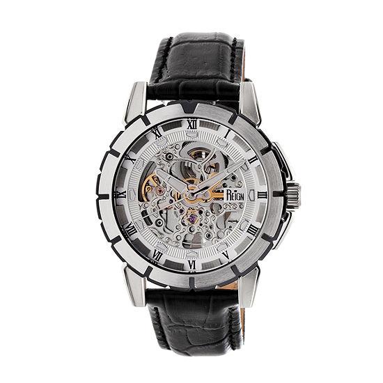 Reign Unisex Black Strap Watch-Reirn4603