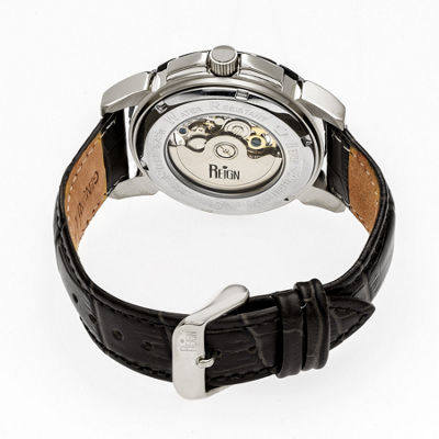Reign Unisex Black Strap Watch-Reirn4603