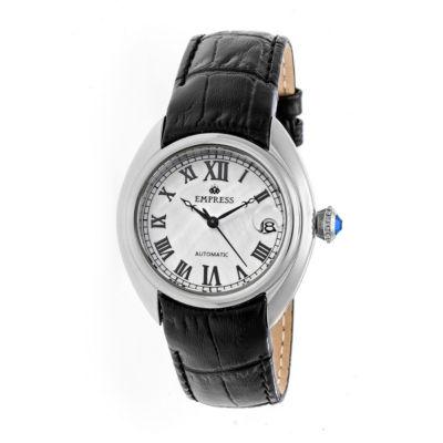 Empress Unisex Black Strap Watch-Empem1401