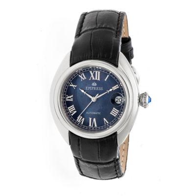 Empress Unisex Black Strap Watch-Empem1402