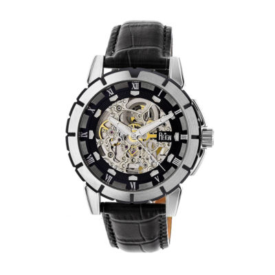 Reign Unisex Black Strap Watch-Reirn4604