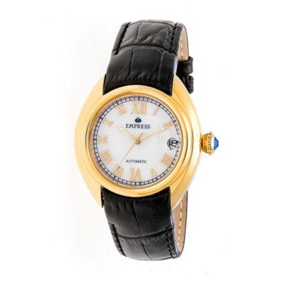 Empress Unisex Black Strap Watch-Empem1403