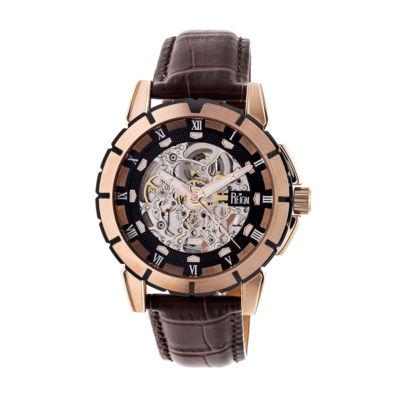Reign Unisex Brown Strap Watch-Reirn4606