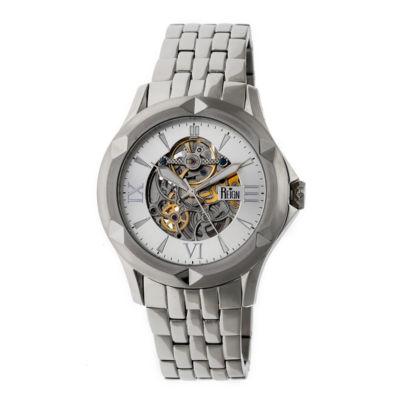 Reign Unisex Silver Tone Bracelet Watch-Reirn4701