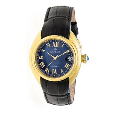 Empress Unisex Black Strap Watch-Empem1404
