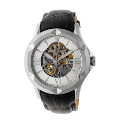 Reign Unisex Black Strap Watch-Reirn4703
