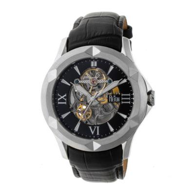 Reign Unisex Black Strap Watch-Reirn4704