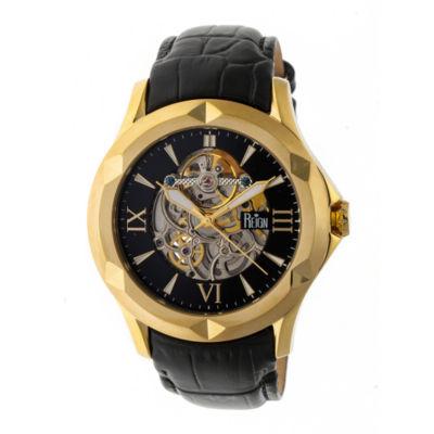 Reign Unisex Black Strap Watch-Reirn4705