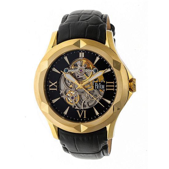 Reign Unisex Black Strap Watch Reirn4705