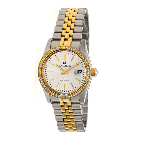 Empress Unisex Two Tone Bracelet Watch-Empem1505