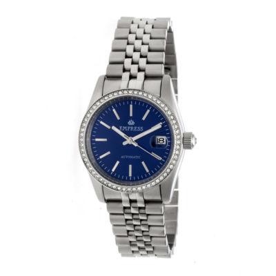 Empress Unisex Silver Tone Bracelet Watch-Empem1504