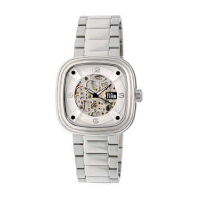 Reign Unisex Silver Tone Bracelet Watch-Reirn4801