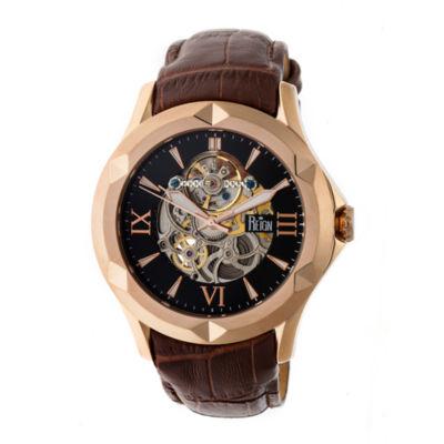 Reign Unisex Brown Strap Watch-Reirn4706