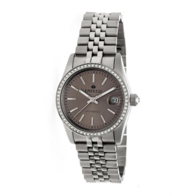 Empress Unisex Silver Tone Bracelet Watch-Empem1503