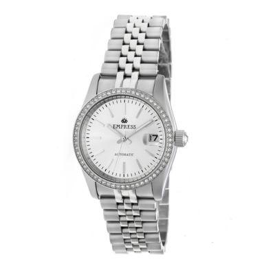 Empress Unisex Silver Tone Bracelet Watch-Empem1501