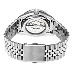 Empress Unisex Adult Silver Tone Stainless Steel Bracelet Watch-Empem1501