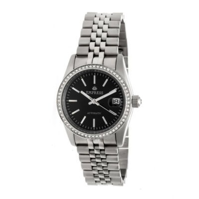 Empress Unisex Silver Tone Bracelet Watch-Empem1502