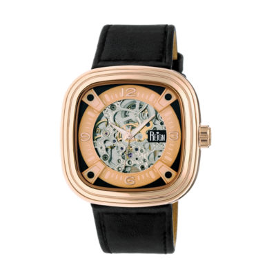 Reign Unisex Black Strap Watch-Reirn4805