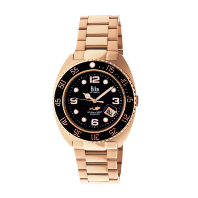 Reign Unisex Rose Goldtone Bracelet Watch-Reirn4903