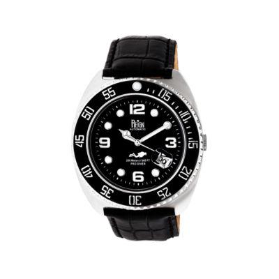 Reign Unisex Black Strap Watch-Reirn4905