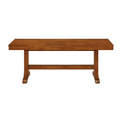 Millwright Wood Dining Bench