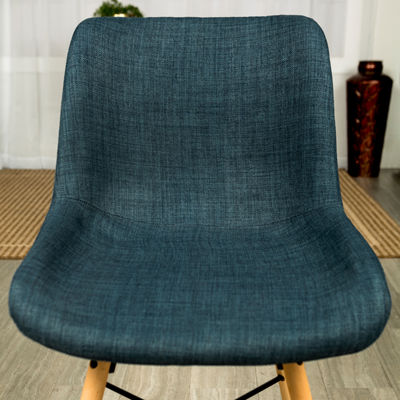 Upholstered Linen Side Chairs