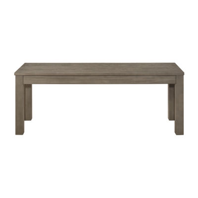 Homestead Simple Wood Dining Bench
