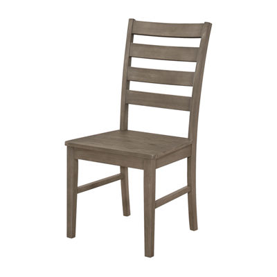 Wood Ladder Back Dining Chairs