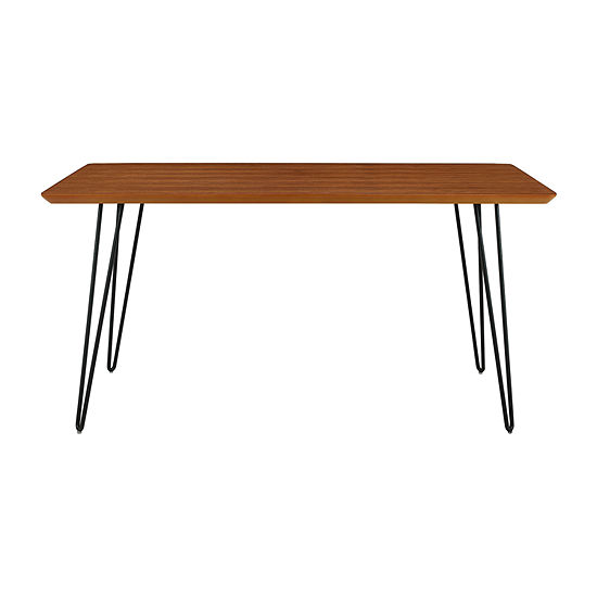 Square Hairpin Leg Dining Table
