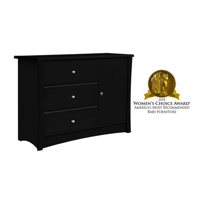 Storkcraft Crescent 3-Drawer Combo Dresser