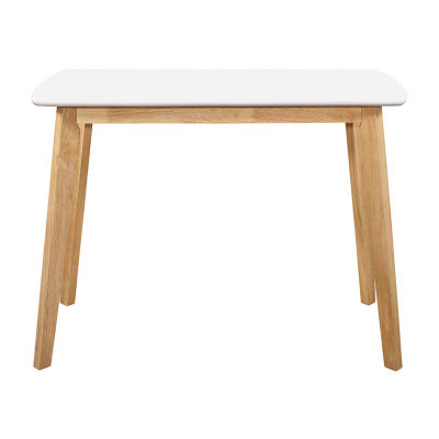 "42"" Retro Modern Wood Writing Desk"
