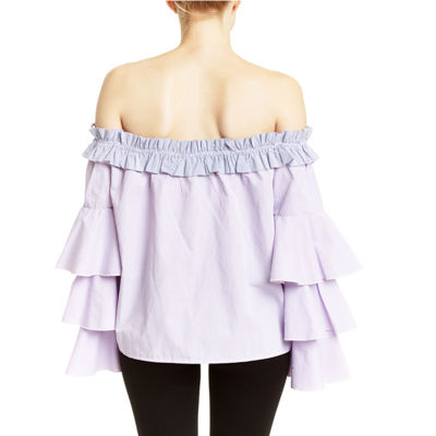 Romeo and Juliet Couture Ruffle Sleeve Top