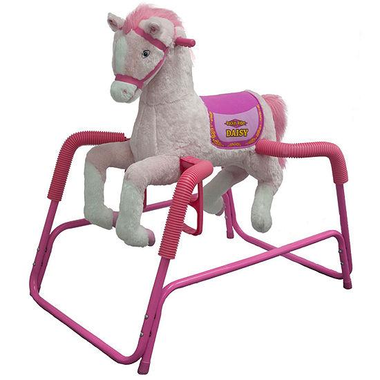 Rockin Rider Daisy Talking Plush Spring Horse