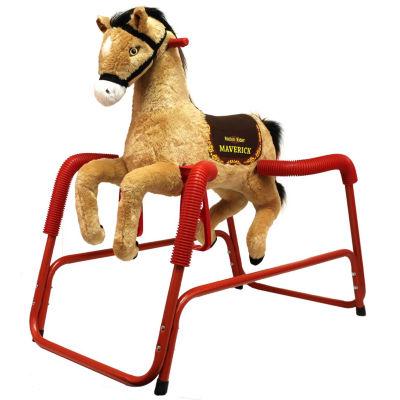 Rockin' Rider Maverick Plush Spring Horse