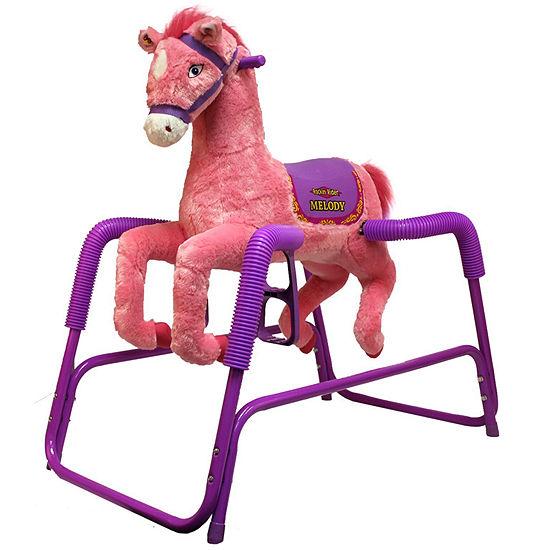 Rockin Rider Melody Plush Spring Horse