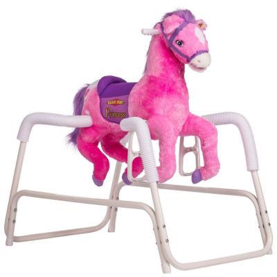 Rockin' Rider Princess Animated Plush Spring Horse