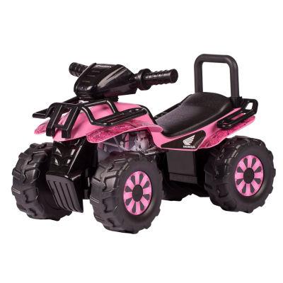 Honda Pink HD Camo Utility ATV