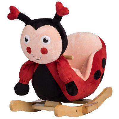 Rockin' Rider Lala Lady Bug Baby Rocker
