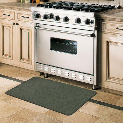 JCPenney Home Octagons Ultimate Comfort Rectangular Kitchen Mat