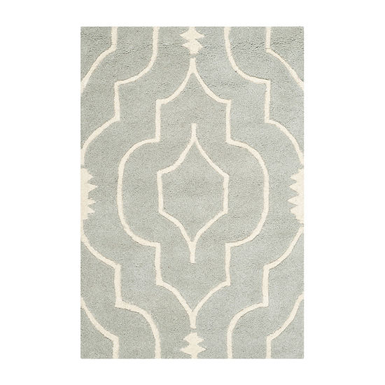 Safavieh Crane Geometric Hand Tufted Wool Rug