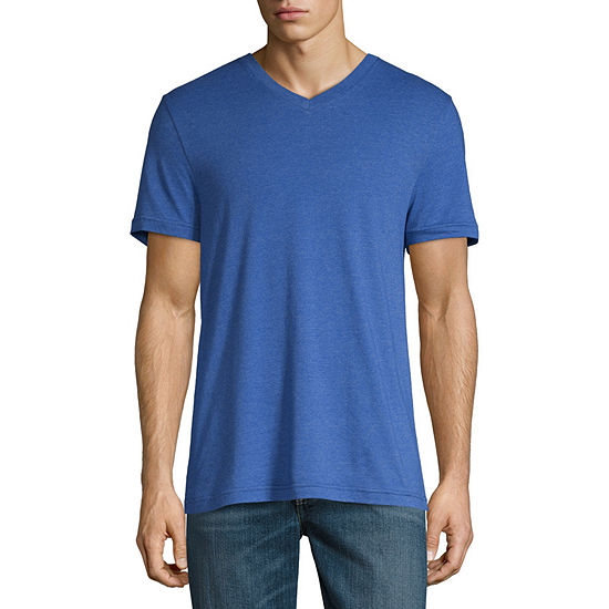 Arizona Mens V Neck Short Sleeve T-Shirt